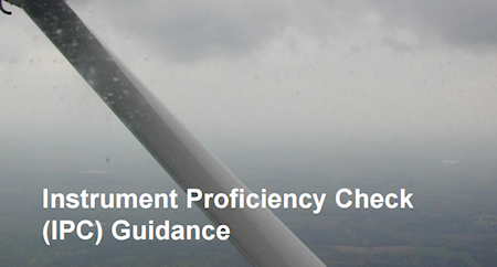 Read this comprehensive Instrument Proficieny Check Guidance documentation about Instrument Proficieny Check... ( Read Advisory Circular 61-98D )